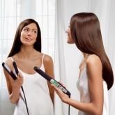 Гладкие и прямые волосы