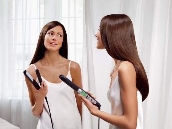 В домашних условиях вытянуть волосы