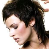 Длинные волосы сзади