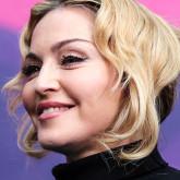 Собранная прическа Мадонны