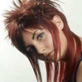 Креативный вариант для длинных волос