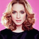 Элегантная прическа Мадонны