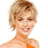 Стрижка каприз на коротких волосах