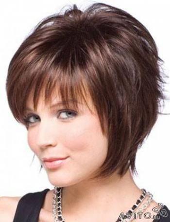 Прически на короткие тонкие волосы фото