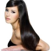 Гладкие длинные волосы