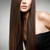 Восхитительные прямые волосы