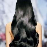 Восхитительный результат на темных волосах
