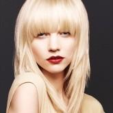 фото укладки на средние волосы