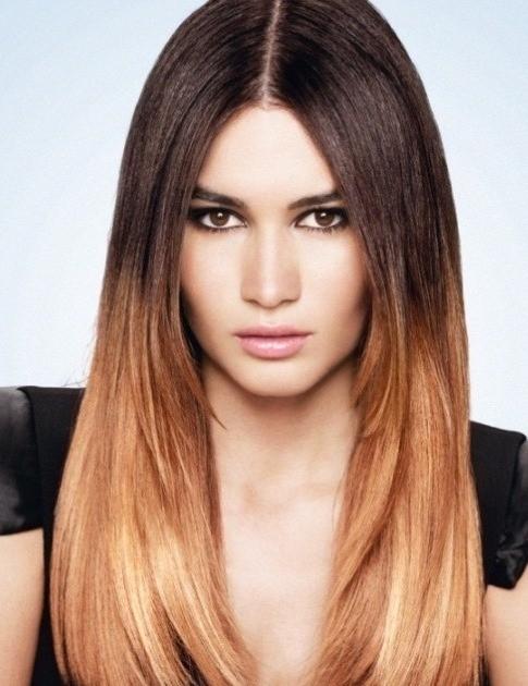 фото окрашенных волос