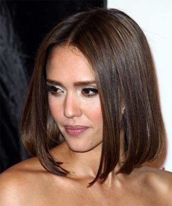 фото средней длины волос
