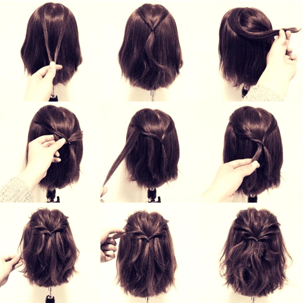 Какие прически быстрые для коротких волос