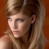 фото начеса на средние волосы