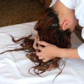 фото мокрого эффекта волос