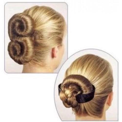 Как из волос сделать калачики