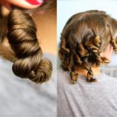 фото жгутиков из волос