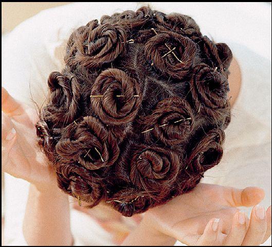 фото завивки волос