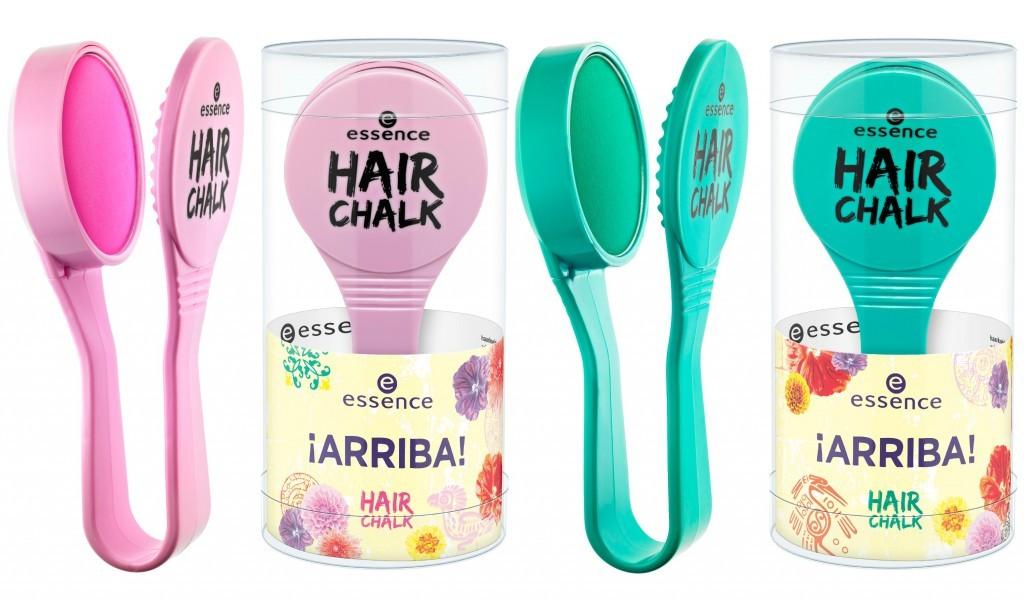 Окрашивание волос цветными мелками