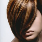 Brown-Hair-With-Multicolored-Blonde-Highlights