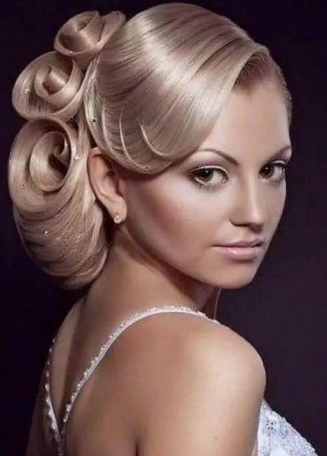 фото завитков на волосах