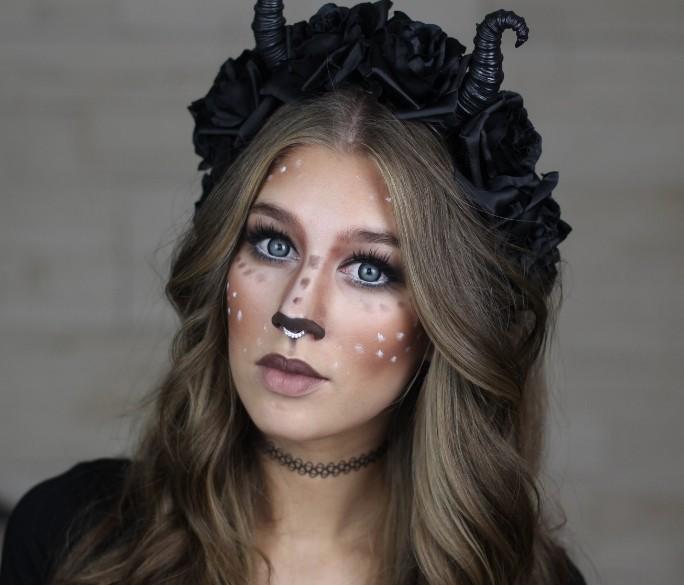 Причёска на хэллоуин фото