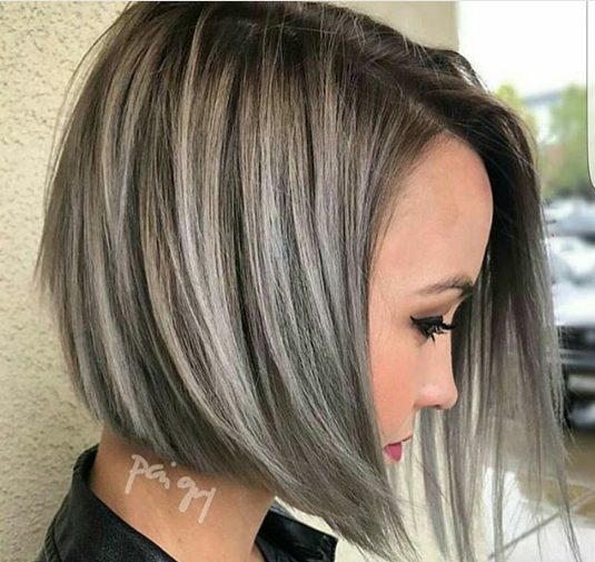 окрашивание волос коротких фото