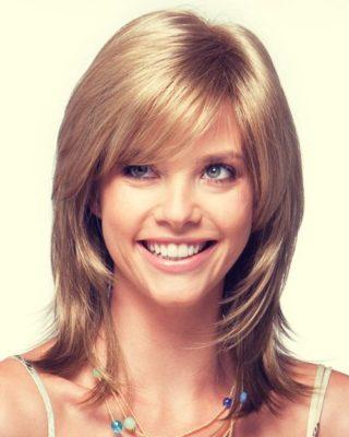 Стрижки каскад фото на среднюю длину волос