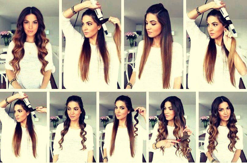прически на длинные волосы на каждый день 2010