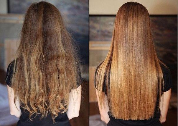 Выпрямление волос при помощи утюжка: всё, что нужно знать