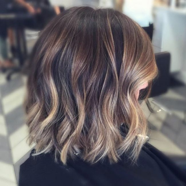 Омбре на русых волосах картинки