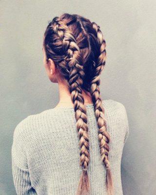Как плести косы с искусственными волосами