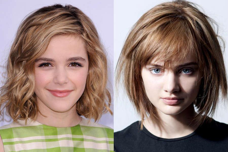 Стрижка для девочки 13 лет на длинные волосы