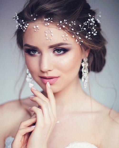 Свадебная прическа платье с рукавами