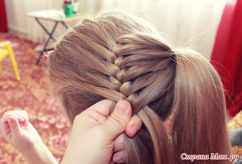Причёски косы для девочек пошагово