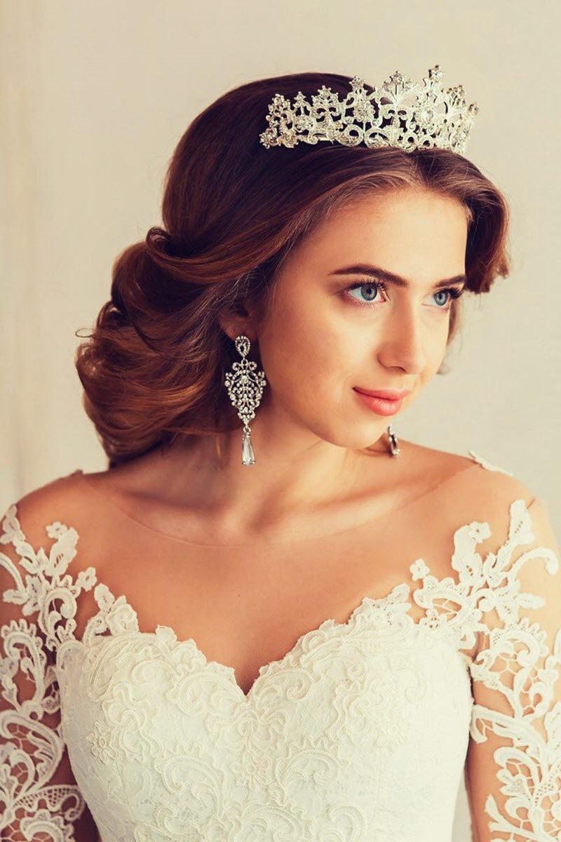 Образ невесты с короной