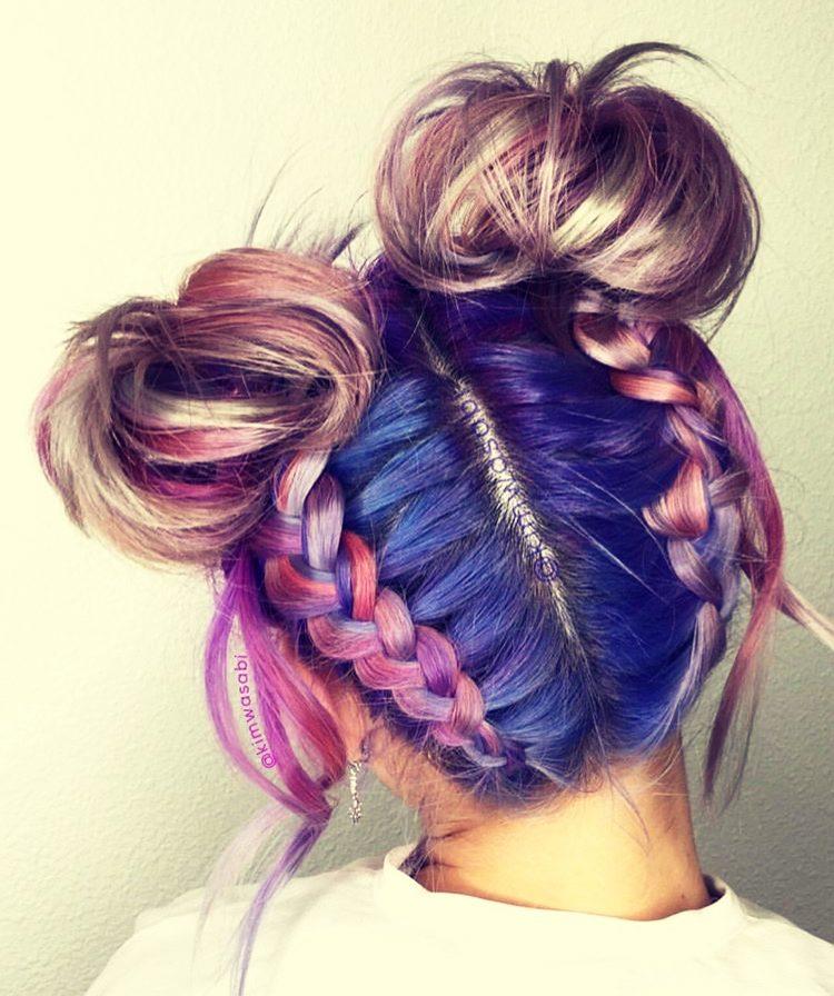 Два рожка из волос