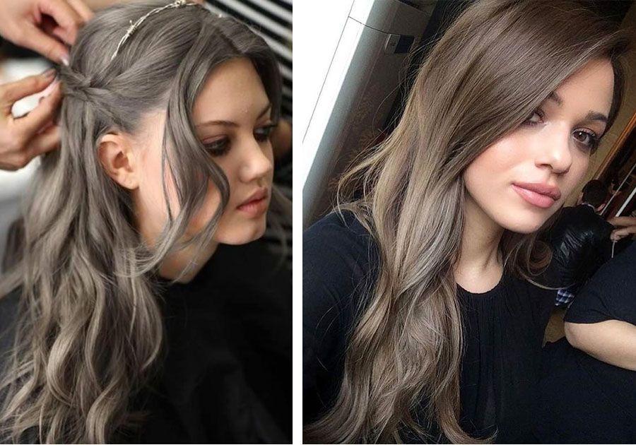 Как сделать темный пепельный цвет волос