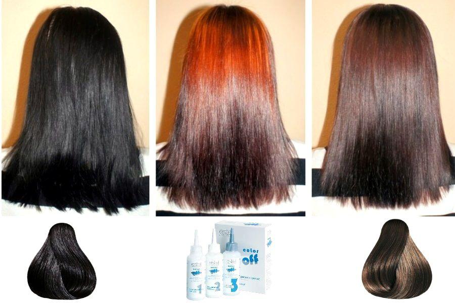 Вывести темный цвет волос в домашних условиях